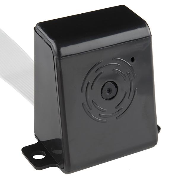 Carcasa camera Raspberry Pi - negru, plastic [1]