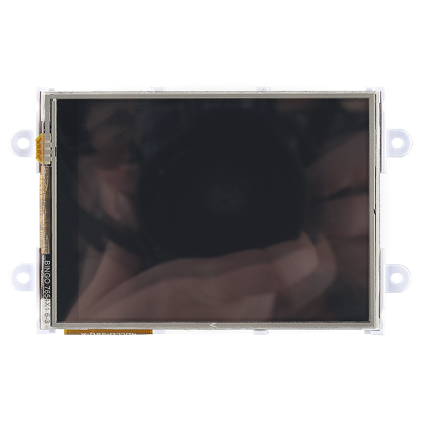 "RETRAS - Raspberry Pi Display Module - 3.2"" Touchscreen LCD 1"