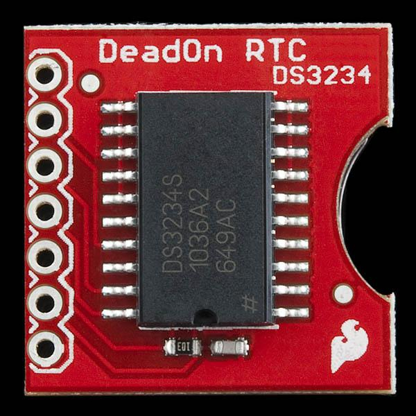 DeadOn RTC - DS3234 Breakout - Real time clock 5