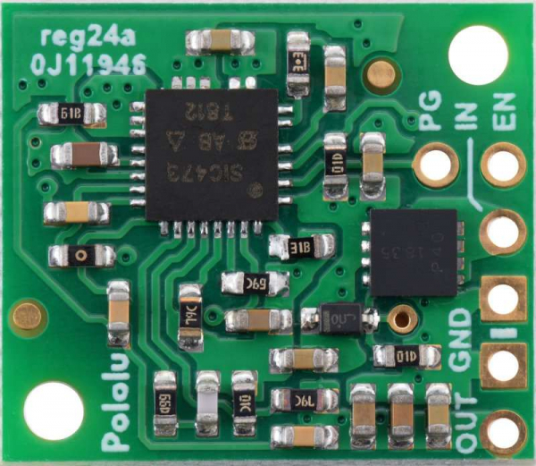 Regulator 6V 2.7A step-down Pololu D36V28F6 4