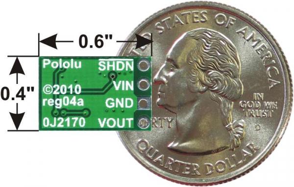 Regulator step-down, ajustabil, de 2.5-7.5V, Pololu D36V6ALV 2