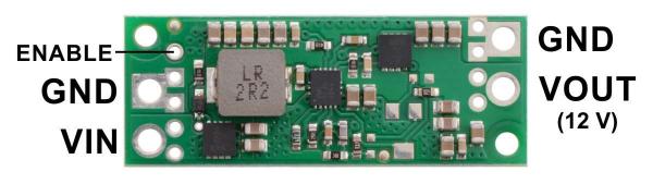 Regulator step-up de 12V Pololu U3V70F12 [1]