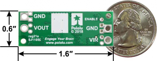 Regulator step-up de 15V Pololu U3V70F15 [2]