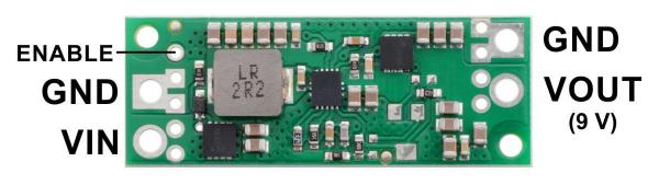 Regulator step-up de 9V Pololu U3V70F9 [1]