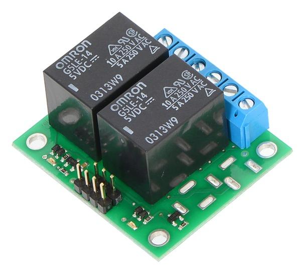 Placa  2 relee SPDT 5V 0