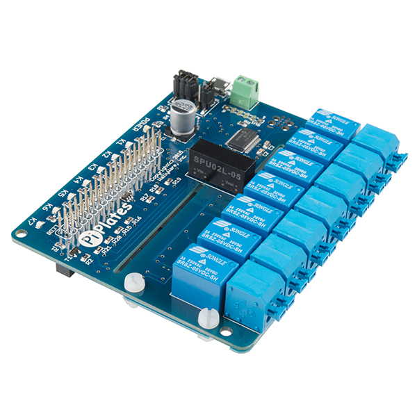 RELAYplate - placa cu 7 relee Raspberry Pi 0