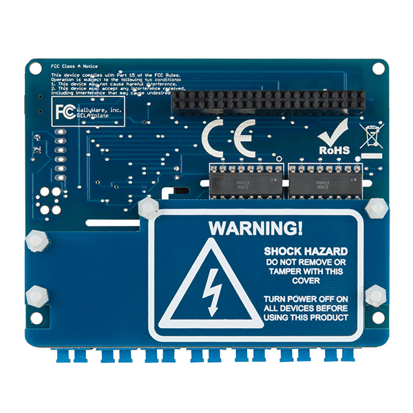RELAYplate - placa cu 7 relee Raspberry Pi 3