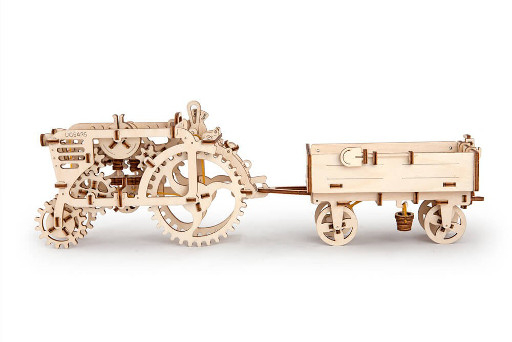 Remorca Tractor UGears 2