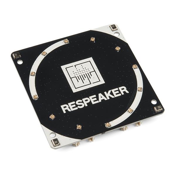 Placa  ReSpeaker cu 4 microfoane pentru Raspberry Pi 0