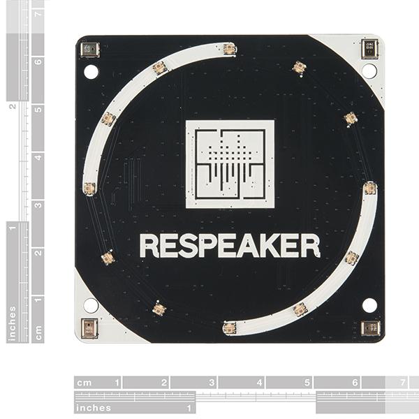 Placa  ReSpeaker cu 4 microfoane pentru Raspberry Pi 1