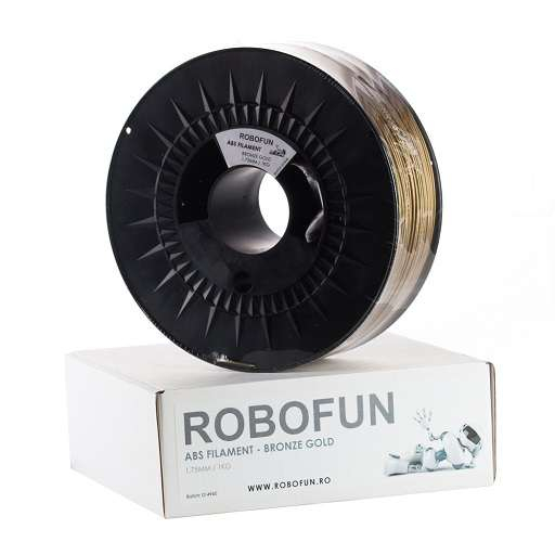 Filament Premium Robofun ABS 1KG  1.75 mm - Bronze Gold 0