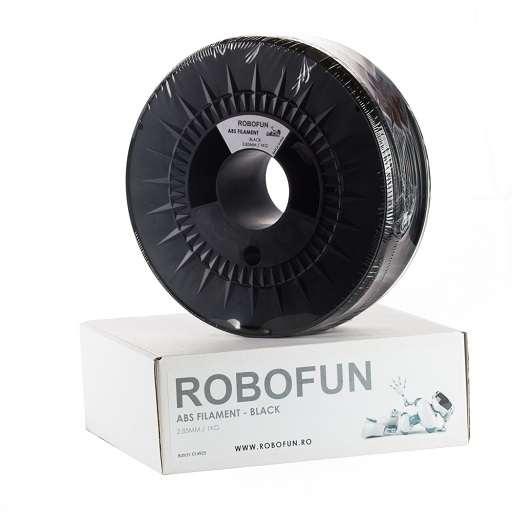 RETRAS - Filament Premium Robofun ABS 1KG  3 mm - Negru 0