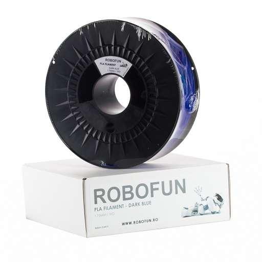 Filament Premium Robofun PLA 1KG  1.75 mm - Albastru inchis 0