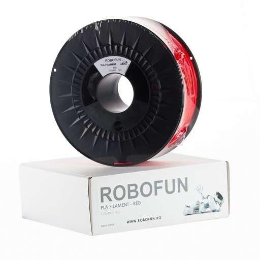 Filament Premium Robofun PLA 1KG  1.75 mm - Rosu 0