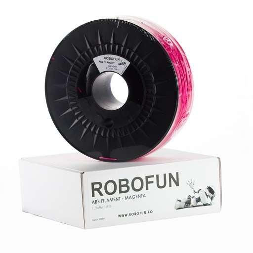Filament Premium Robofun ABS 1KG  1.75 mm - Magenta 0