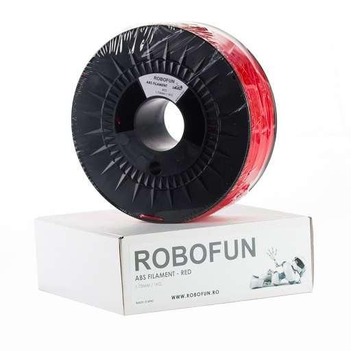 Filament Premium Robofun ABS 1KG  1.75 mm - Rosu 0