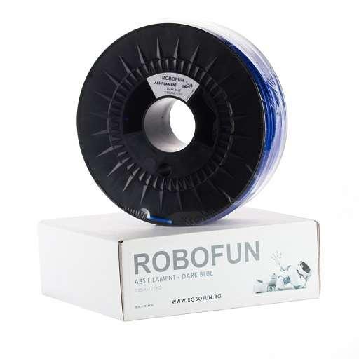 Filament Premium Robofun ABS 1KG  3 mm - Albastru inchis 0