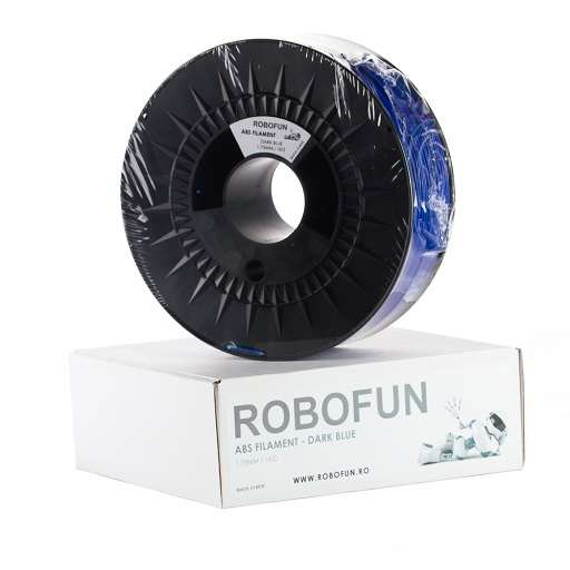 RETRAS - Filament Premium Robofun ABS 1KG  1.75 mm - Albastru inchis 0