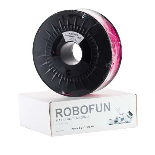 Filament Premium Robofun PLA 1KG  1.75 mm - Magenta 0