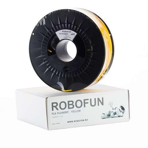 RETRAS - Filament Premium Robofun PLA 1KG  3 mm - Galben [5]