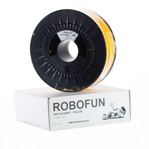 Retras Filament Premium Robofun ABS 1KG  1.75 mm - Galben 6