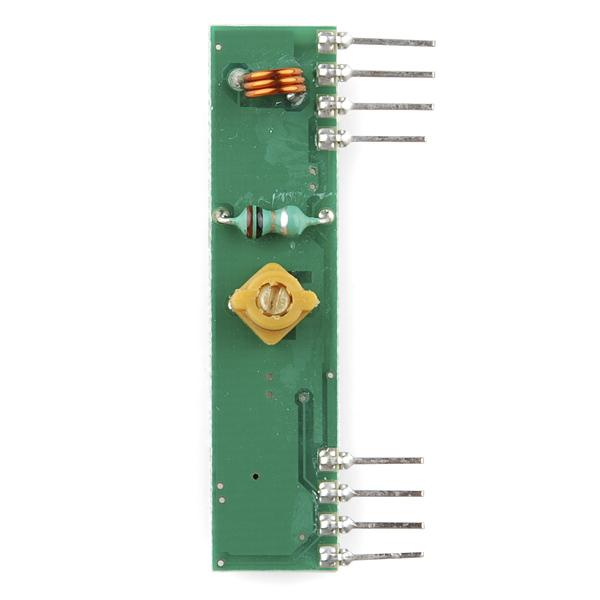 Receptor radio 434 MHz 2
