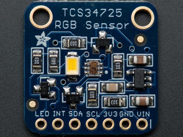 Senzor de culoare RGB cu filtru IR - TCS34725 0