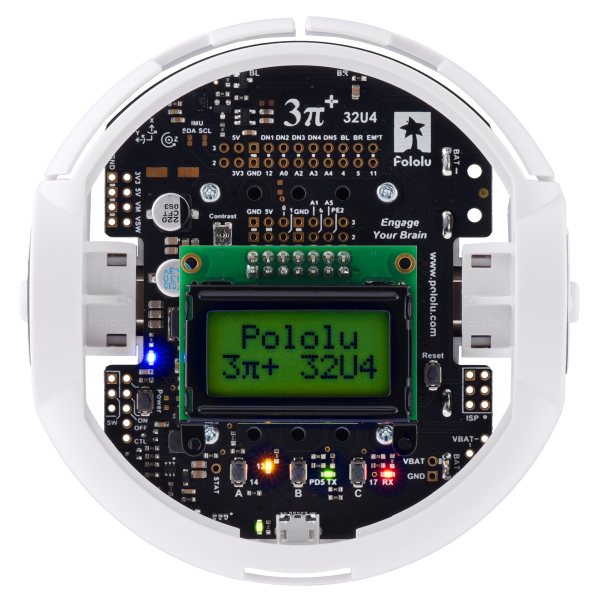 Robot Pololu 3pi+ 32U4 - Editia Turtle (motoare 75:1 LP), asamblat [5]