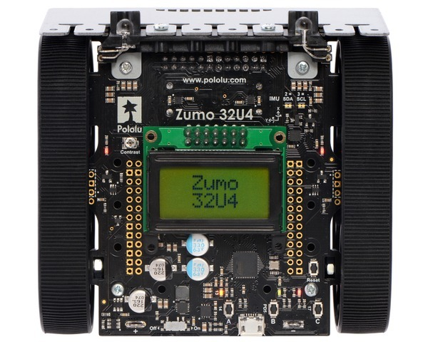 Robot Zumo 32U4 (Asamblat cu Motoare 75:1 HP) 2