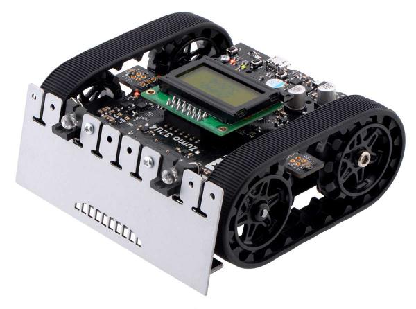 Robot Zumo 32U4 (asamblat cu motoare de 100:1 HP) [0]