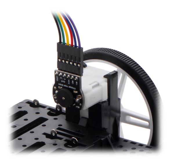 Kit encoder Romi  12 CPR, 3.5-18V 2