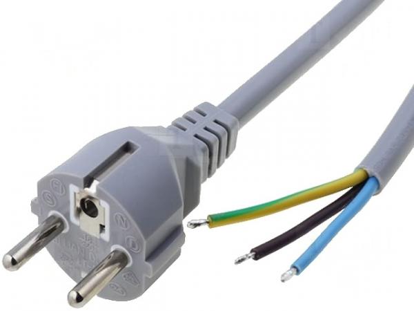 Cablu alimentare 220V cu stecher 0