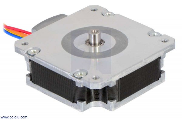 Sanyo Pancake Stepper Motor: Bipolar, 200 Steps/Rev, 50×16mm, 5.9V, 1 A/Phase 0