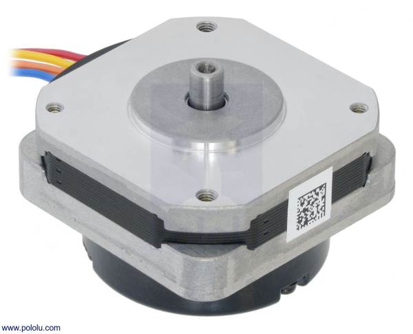 Sanyo Pancake Stepper Motor cu Encoder: Bipolar, 200 Steps/Rev, 42×24.5mm, 3.5V, 1 A/Faza, 4000 CPR 0