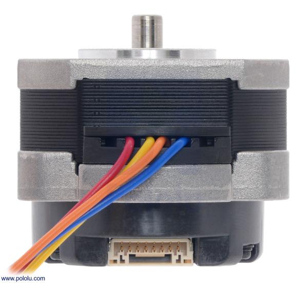Sanyo Pancake Stepper Motor cu Encoder: Bipolar, 200 Steps/Rev,  42×31.5mm, 5.4V, 1 A/Faza, 4000 CPR 2