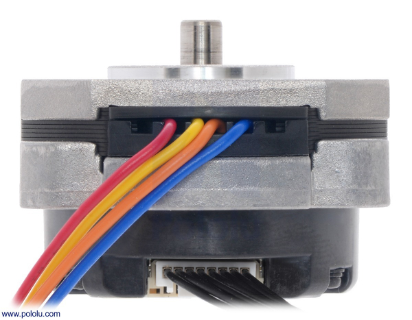 Sanyo Pancake Stepper Motor cu Encoder: Bipolar, 200 Steps/Rev, 42×24.5mm, 3.5V, 1 A/Faza, 4000 CPR 3