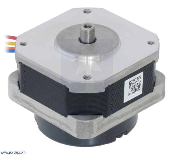 Sanyo Pancake Stepper Motor cu Encoder: Bipolar, 200 Steps/Rev,  42×31.5mm, 5.4V, 1 A/Faza, 4000 CPR 0