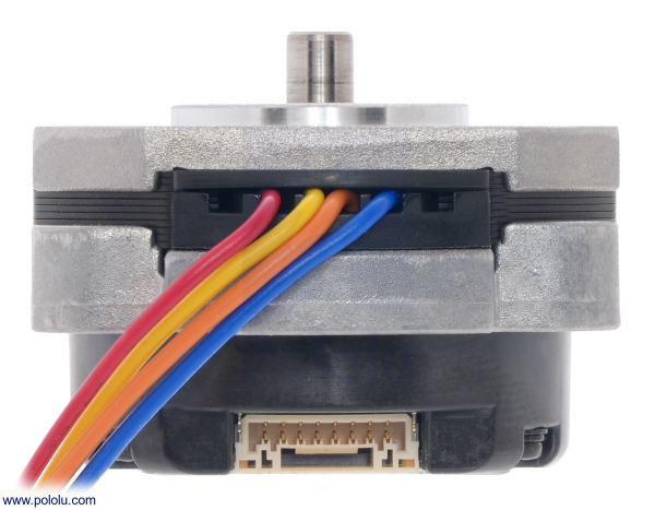 Sanyo Pancake Stepper Motor cu Encoder: Bipolar, 200 Steps/Rev, 42×24.5mm, 3.5V, 1 A/Faza, 4000 CPR 2