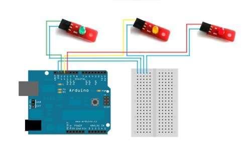 Kit pentru incepatori 7 Proiecte simple cu Arduino 11