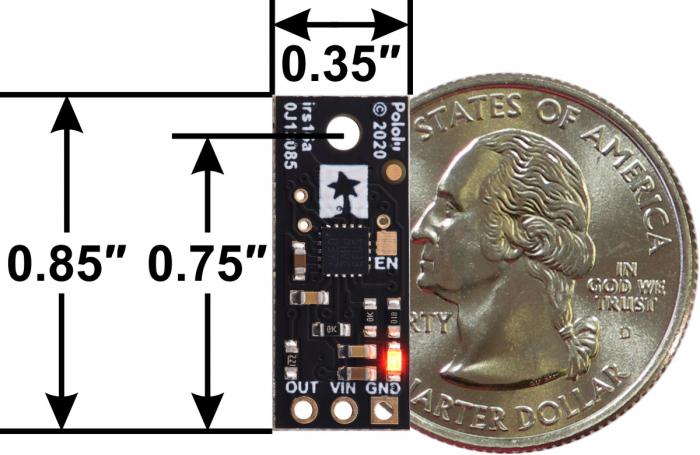 Senzor digital de distanta Pololu 5cm [4]