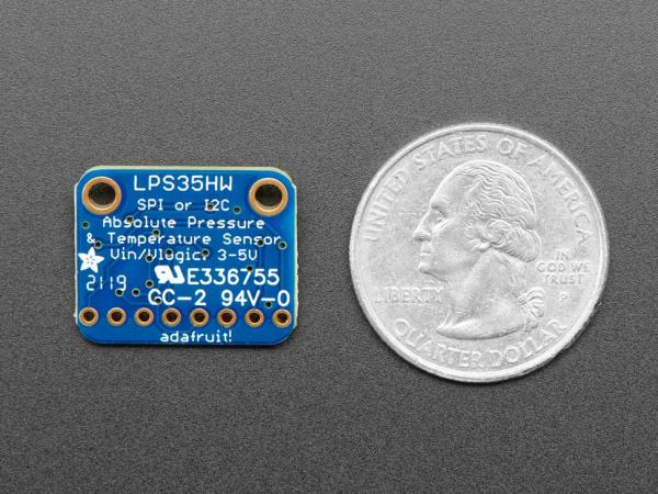 Senzor presiune rezistent la apa Adafruit LPS35HW [2]