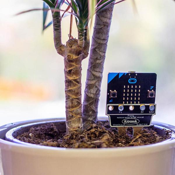 Senzor umiditatea solului Kitronik Prong pentru BBC micro:bit 0