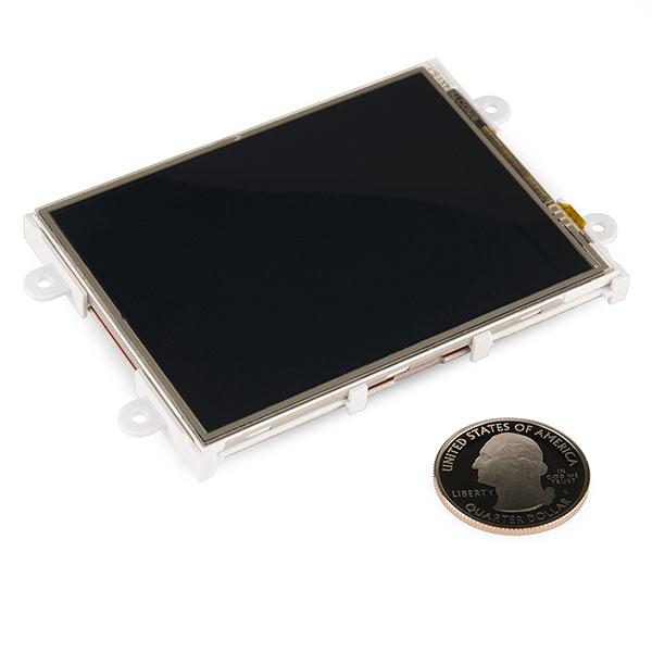 "Serial TFT LCD - 3.2"" with Touchscreen (uLCD-32PTU-GFX) 3"