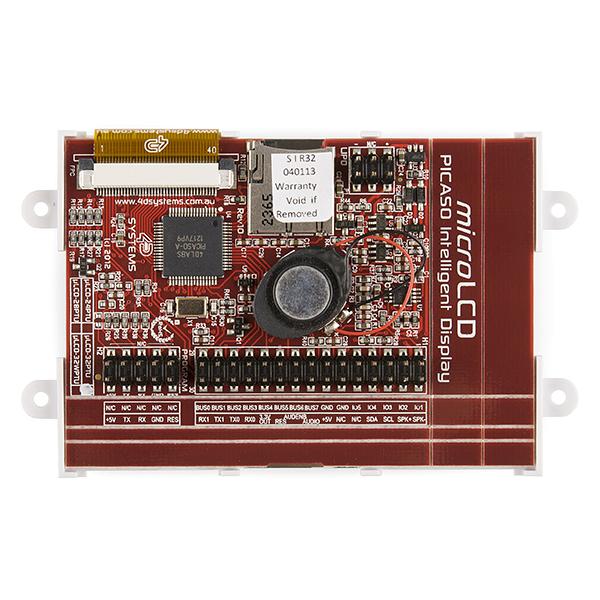 "Serial TFT LCD - 3.2"" with Touchscreen (uLCD-32PTU-GFX) 2"