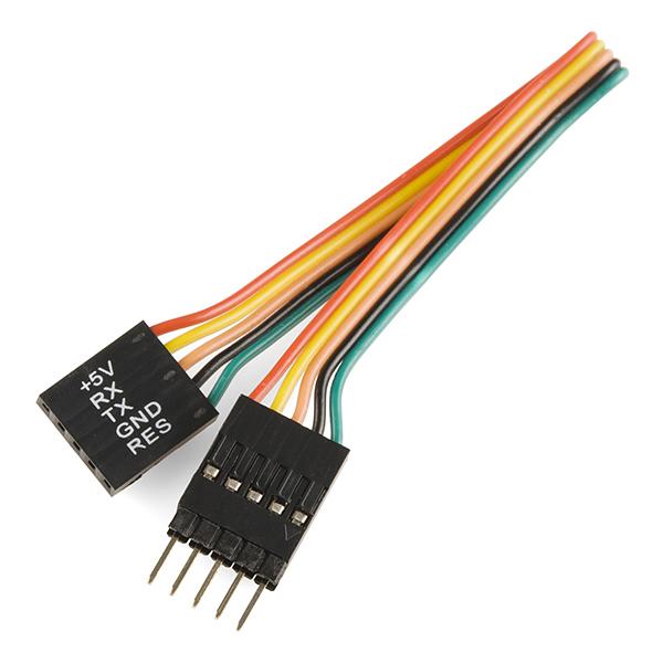 "Serial TFT LCD - 3.2"" with Touchscreen (uLCD-32PTU-GFX) 4"