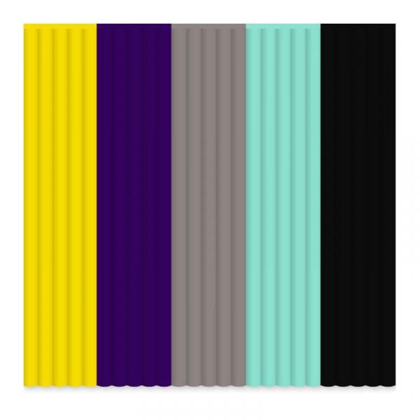Set filamente flexibile pentru 3Doodler - multicolore, FLEXY, Mix 1, Retro 1