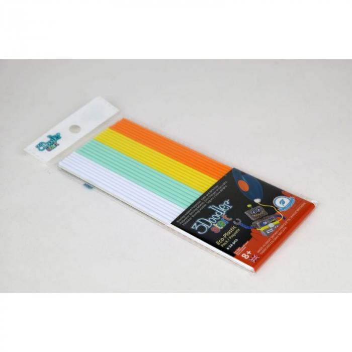 Set filamente multicolore pentru stiloul 3D 3Doodler Start - MIX 1 [1]