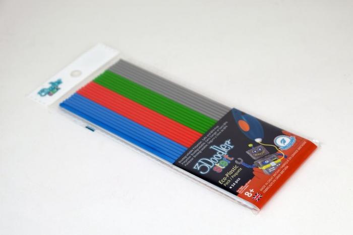Set filamente multicolore pentru stiloul 3D 3Doodler Start - MIX 2 [1]