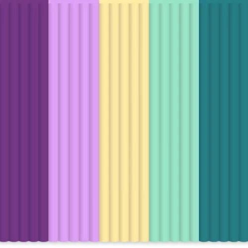 Set filamente PLA 3Doodler - multicolor MIX17 Provence Palette 0
