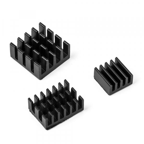 Set radiatoare aluminiu pentru Raspberry Pi 4 B 0